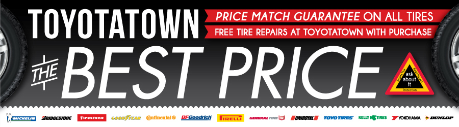 ToyotaTown Tire Centre Best Price Guarantee on Winter Tires in London