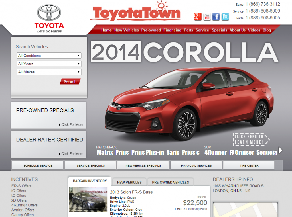 The new Toyota-Town.com