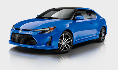 Scion tC_blue_streak