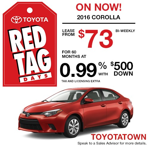 Lease A Toyota Corolla: New And Used Toyota In London, ON